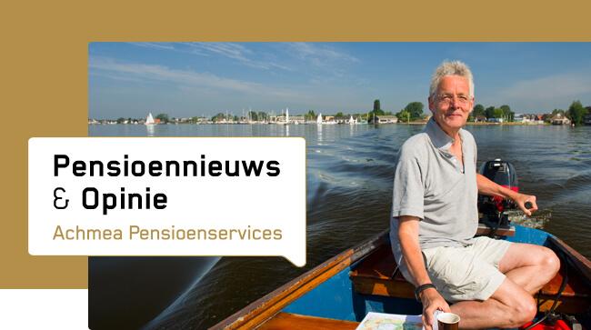 Pensioennieuws & Opinie Achmea Pensioenservices